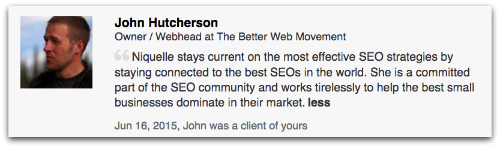 Search Client Testimonials