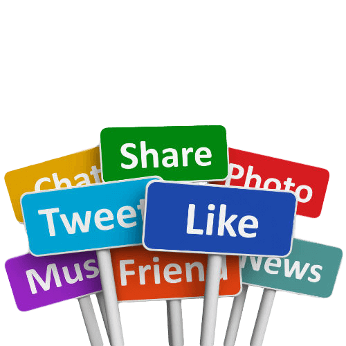 Types of Social Media Actions